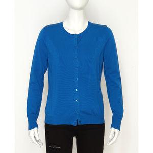 August Silk Royal Blue Cardigan